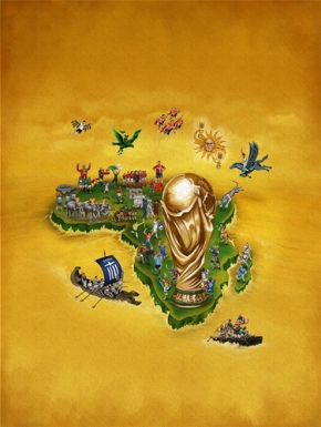The World Cup 2010 on the continent of Africa!