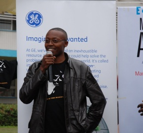 Robert Mburu, Winner of GE's Best Innovation at MFA10